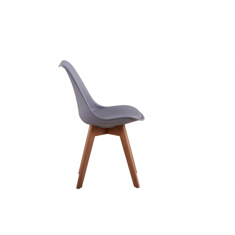 chaise scandinave - Chaise Scandinave Cuir